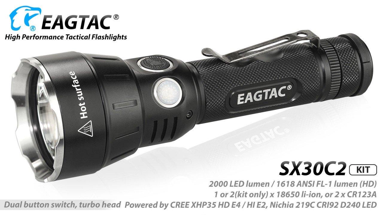 EAGTAC SX30C2, XHP35 HD E4, Kit, cool white