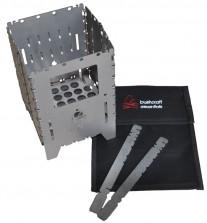 Bushcraft Essentials Bushbox XL Titanium Titan Hobo