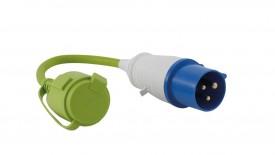 Outwell Adapter CEE-Stecker - Schutzk. Kupplung