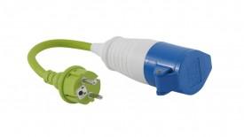 Outwell Adapter Schutzkontakt-Stecker - CEE-Kupplung