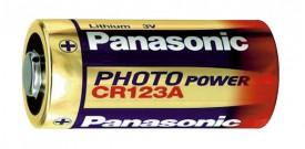 Panasonic Batterie Lithium 3V, CR 123