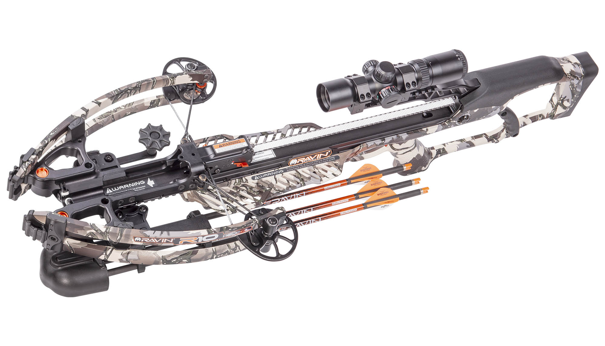RAVIN R10 Predator Camo - Armbrust Set